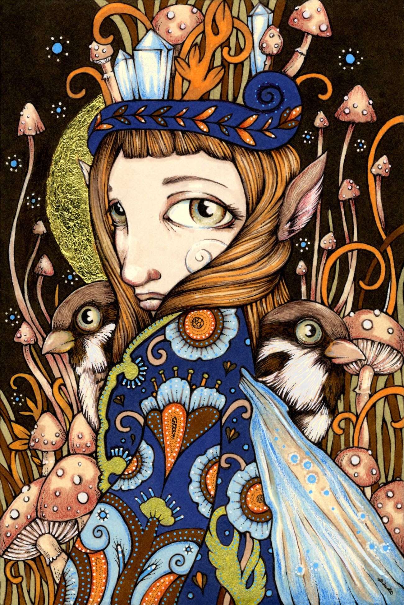 Sparrow Keeper - small