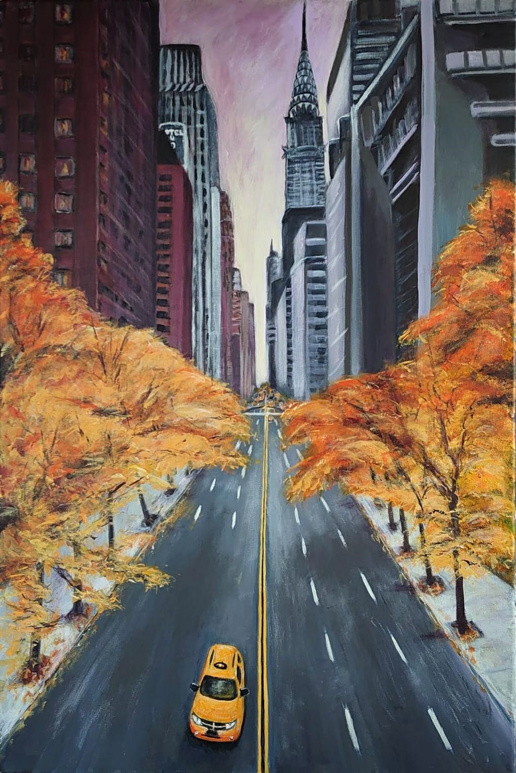 """Autumn on 42nd Street"""
