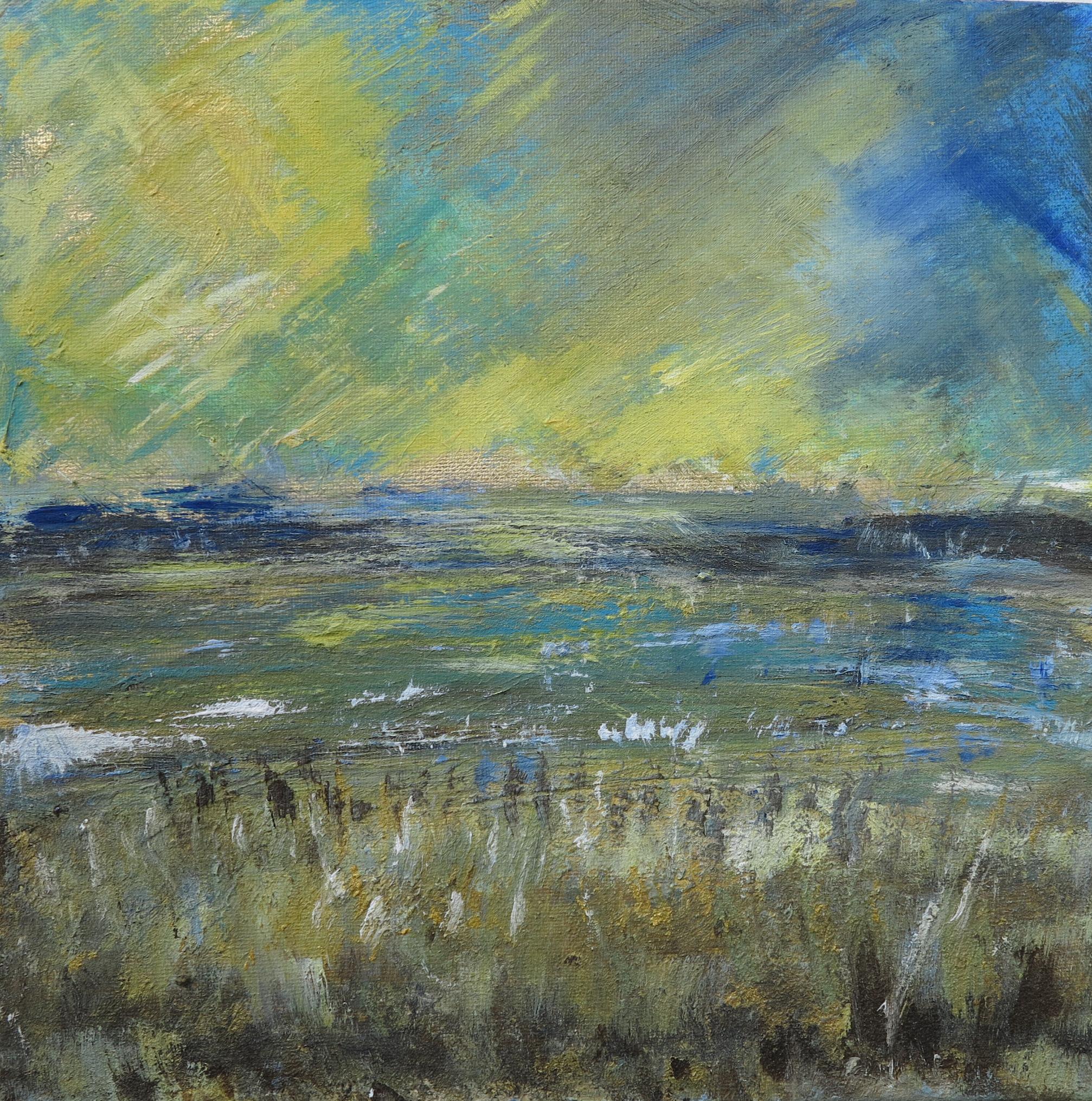 yellow sky over dunes 30 x 30cm-16d93c16