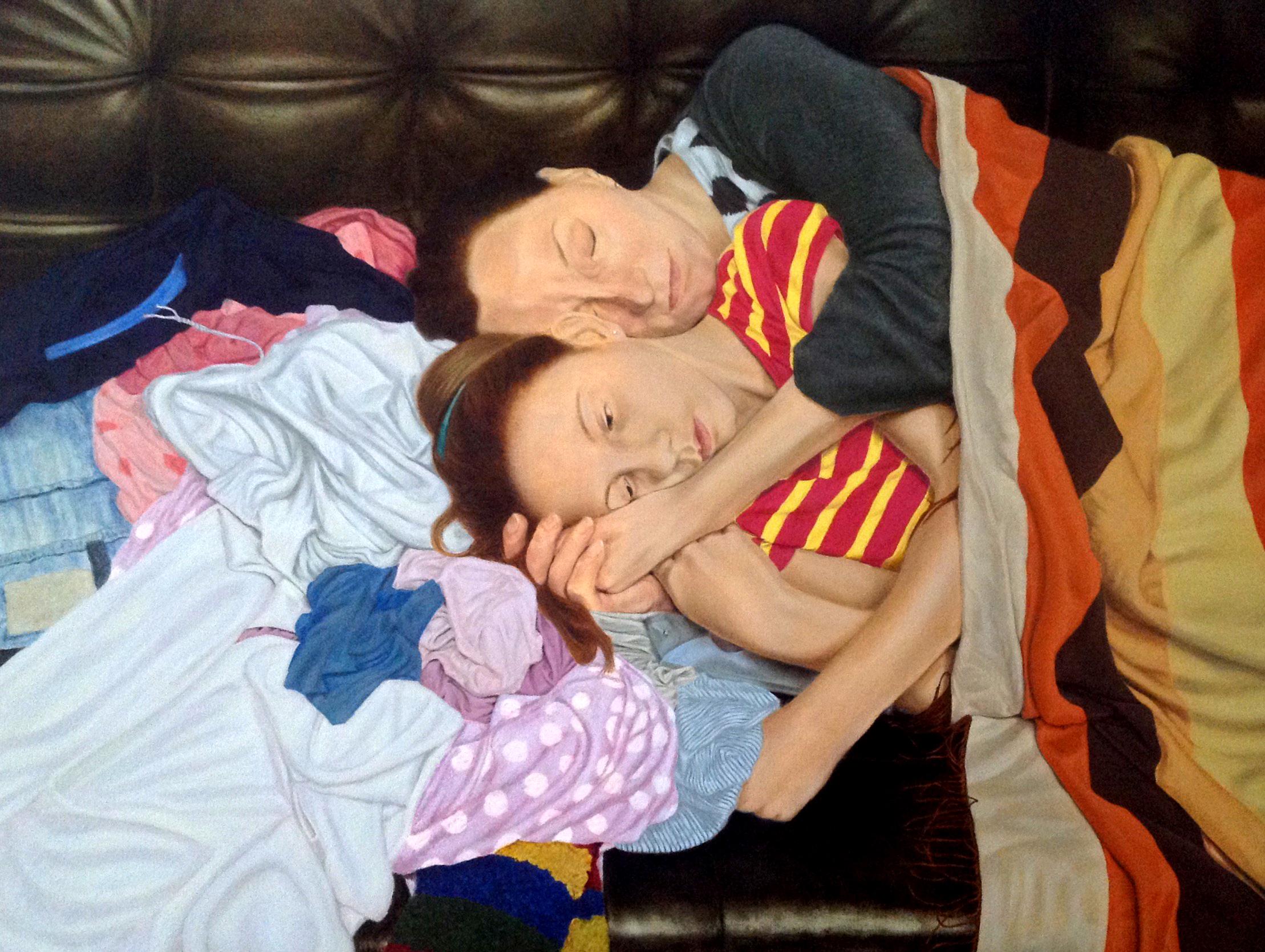 A Nap, Oil on Canvas, 80 x 60 cm, 2017-9841d407