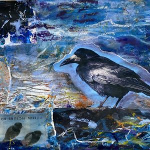 Crow collage small-62b805c9